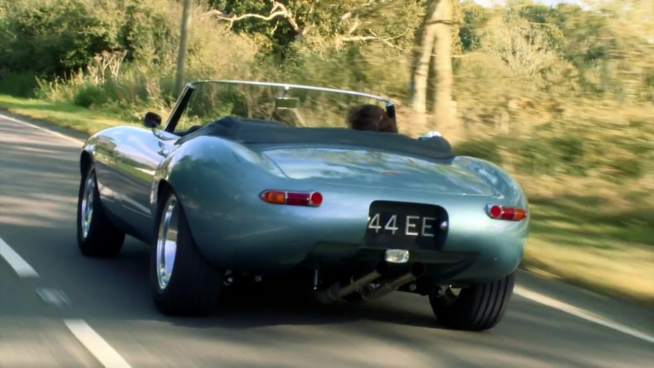 Eagle E Type Spyder Gt On The Road Youtube