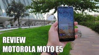 Review Motorola Moto E5 Nuevo Smartphone Android 2018