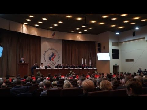 Russian Olympic Committee holds conference after IOC Olympic ban