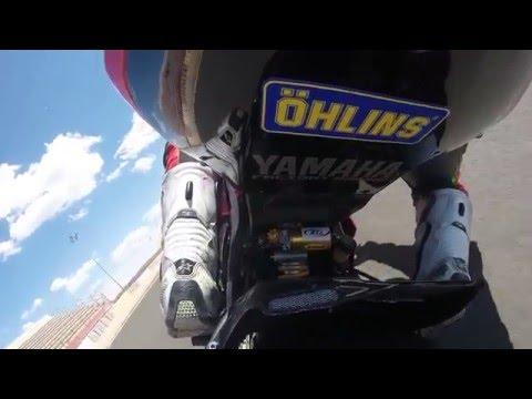 On board #Santi79 Circuito de Albacete 3/4/2016 Yamaha R6R