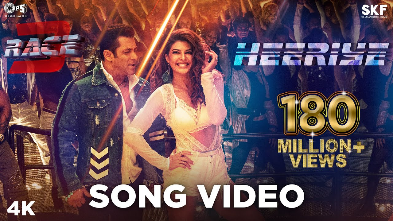 Download Heeriye Song Video - Race 3 | Salman Khan, Jacqueline | Meet Bros ft. Deep Money, Neha Bhasin