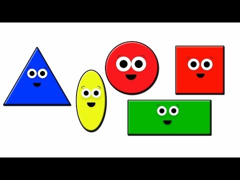 Shapes Song  learn shapes  kids tv learning  preschool learning  learning for kids