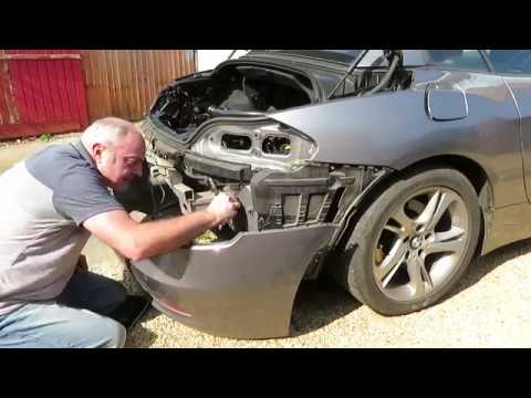 BMW E89 Z4 Parking Sensor/Reversing Camera Install