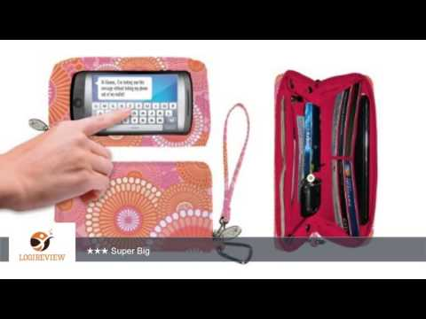 CHARM14 KYOTO ORANGE/PINK DELUXE CELL PHONE WALLET W/TOUCHSCREEN | Review/Test