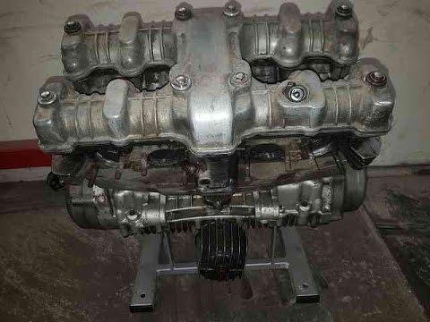 Honda       CB 750       kz    Motor strahlen  Nr498  YouTube