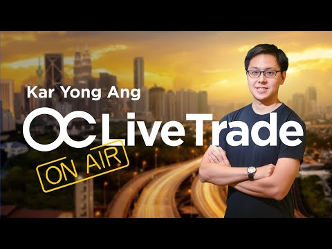 [ENGLISH] Live Trading Session 22.06 with Kar Yong   Forex Trading in English