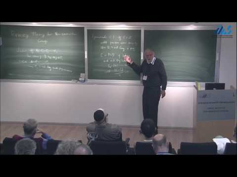 Hillel Furstenberg - Ramsey Theory for Non amenable Groups