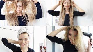 MEINE HAARPFLEGE ROUTINE   Für langes, glattes Haar