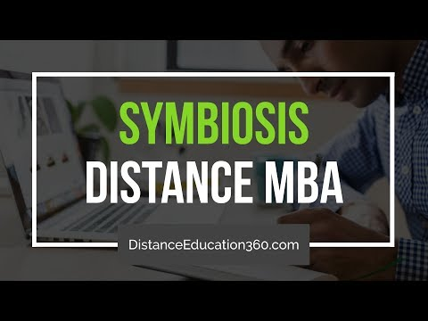 Symbiosis SCDL Distance Learning MBA (PGDBA)