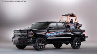 New 2015 Chevrolet Colorado and Silverado Concepts from SEMA Show