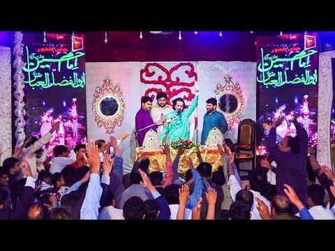 Naheed Abbas Jag Jashan e Zahoor e Imam Hussain as Mola Ghazi Abbas as 3 Shaban 2018