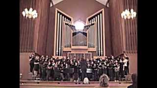 "Illinois College Concert Choir performs ""Joy in the Morning"" at 2013 Homecoming Chapel Service"