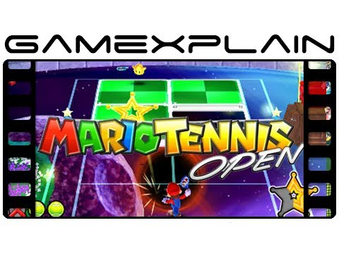 Mario Tennis Open - Special Games Trailer (Nintendo 3DS)
