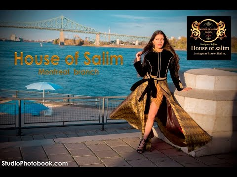 House of Salim modeling project, Montreal branch, Canada