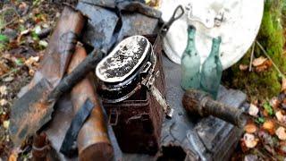 Нашли винтовку СВТ в блиндаже, советские позиции. Подписные вещи. Военная археология. WW2. Фильм 50.