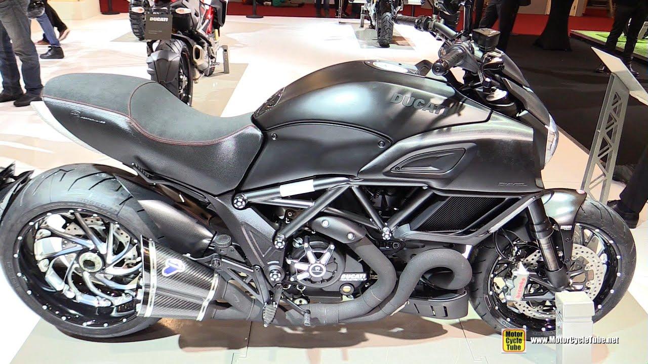 2016 ducati diavel walkaround 2015 salon de la moto paris youtube. Black Bedroom Furniture Sets. Home Design Ideas