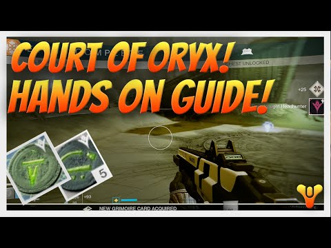 Destiny Court of Oryx Guide & Tutorial. How to Start off & Complete the Court of Oryx Public Events.