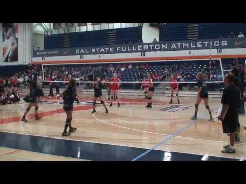 Offshore Volleyball Club 13-1 Girls vs Vision Zone UA 13-Kelly Match2