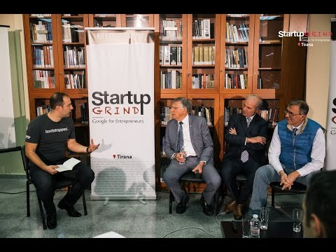 Nobel Laureate Dan Shechtman (Technion - Israel Institute of Technology) at Startup Grind Tirana