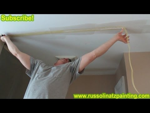 Diy Repair Cracks In The Ceiling By Removing Old Drywall
