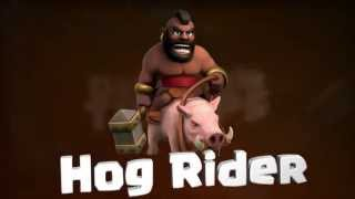 Clash of Clans The Hog Rider / Clash of Clans Monta Puercos