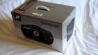 BRAND NEW Fanatec ClubSport Wheel Base V2.5 Unboxing