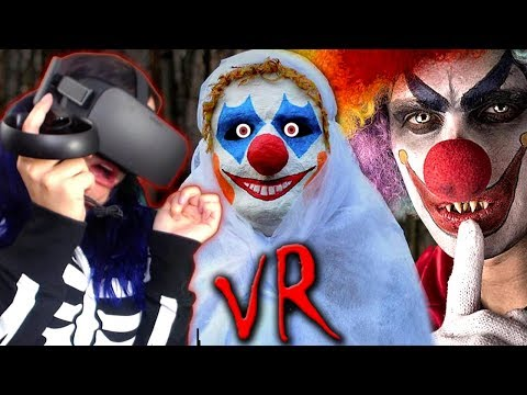 I STILL HATE CLOWNS!! | Creepy Killer Clowns VR Experience REACTION