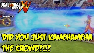 Dragon Ball Xenoverse Random Battles: Rhymestyle vs Unrealentgaming! KAMEHAMEHA THE CROWD!