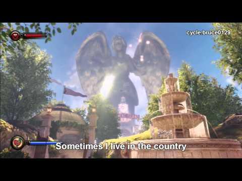 """""""Goodnight, Irene""""(lyrics) from Bioshock Infinite"""