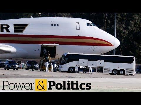 U.S. to fly dozens of Canadians out of coronavirus area | Power & Politics