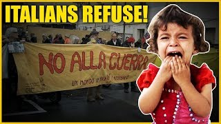 Italians Put Americans To Shame By Refusing To Cooperate!