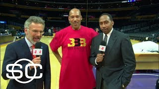 Stephen A. Smith outraged at LaVar Ball's comments about Lonzo debut | SportsCenter | ESPN by : ESPN