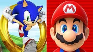 Super Mario Run VS Sonic Dash