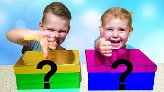 Челлендж Реакция детей на ПЛОХИЕ и ХОРОШИЕ подарки