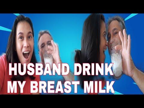 FEEDING MY HUSBAND HAND EXPRESSION MILK FILIPINA AND SPANISH COUPLE