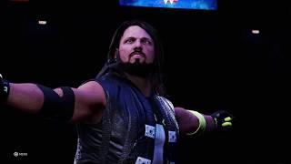 WWE 2K20: THE PHENOMENAL AJ STYLES - NEW Entrance Video!