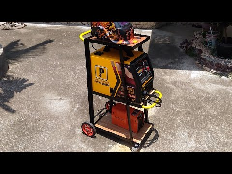 How to Make a Welding Cart - DIY Build