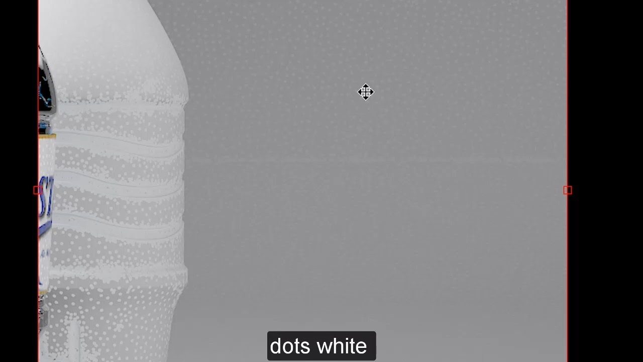 Fixed Problem Dots White in rendering 3dsmax vray