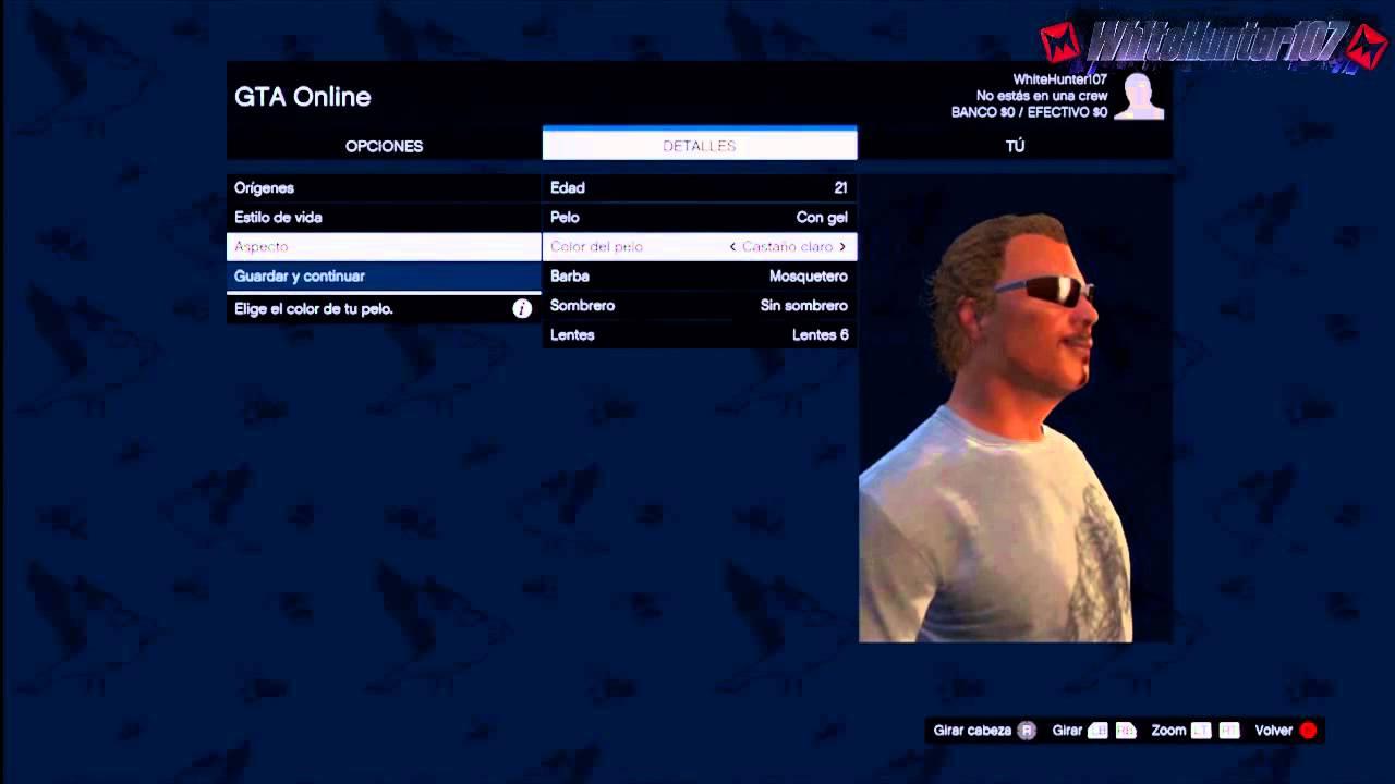 Gta online como crear y personalizar tu personaje online for Cuarto personaje gta 5