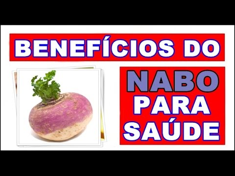 Benefícios do Nabo para a saúde - Problemas do Coração