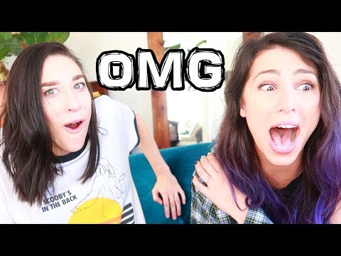 REACTING TO OUR OLD VIDEOS - Stevie & Ally -