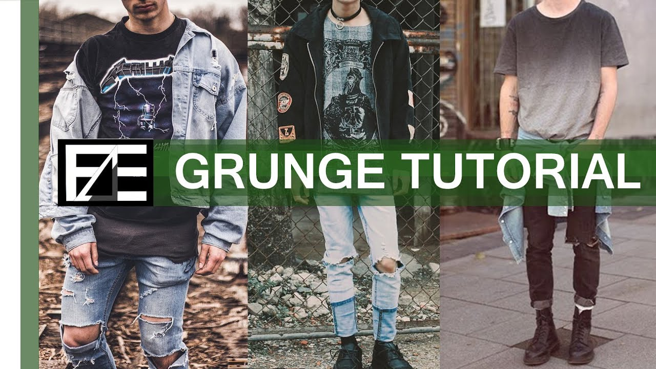 How To Grunge Aesthetic Youtube