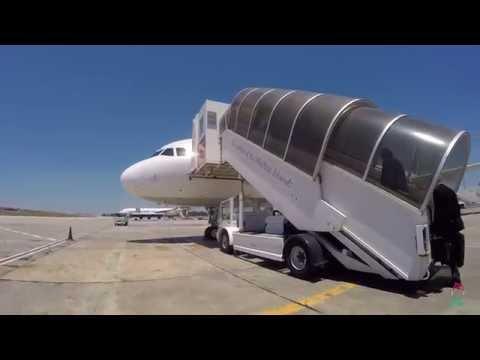 Alitalia A321 Malta MLA to Rome FCO