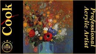 Video Bouquet of Wild Flowers Beginning Acrylic Painting Tutorial download MP3, 3GP, MP4, WEBM, AVI, FLV Maret 2018