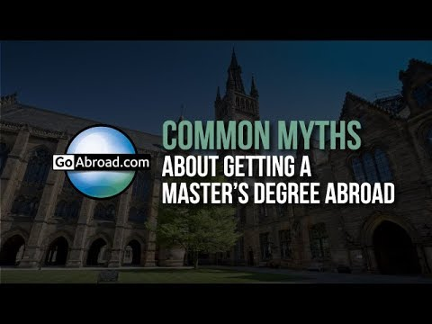 4 Myths About Getting a Master's Degree Abroad 🎓