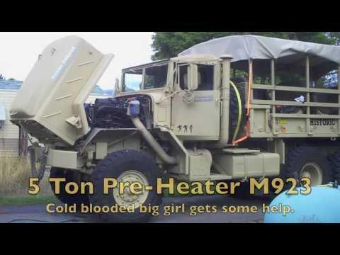 AM General Pre Heater/ Block Heater M923