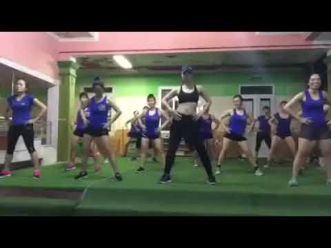 bài tập aerobic giảm cân eo bụng thon gọn nhanh P2