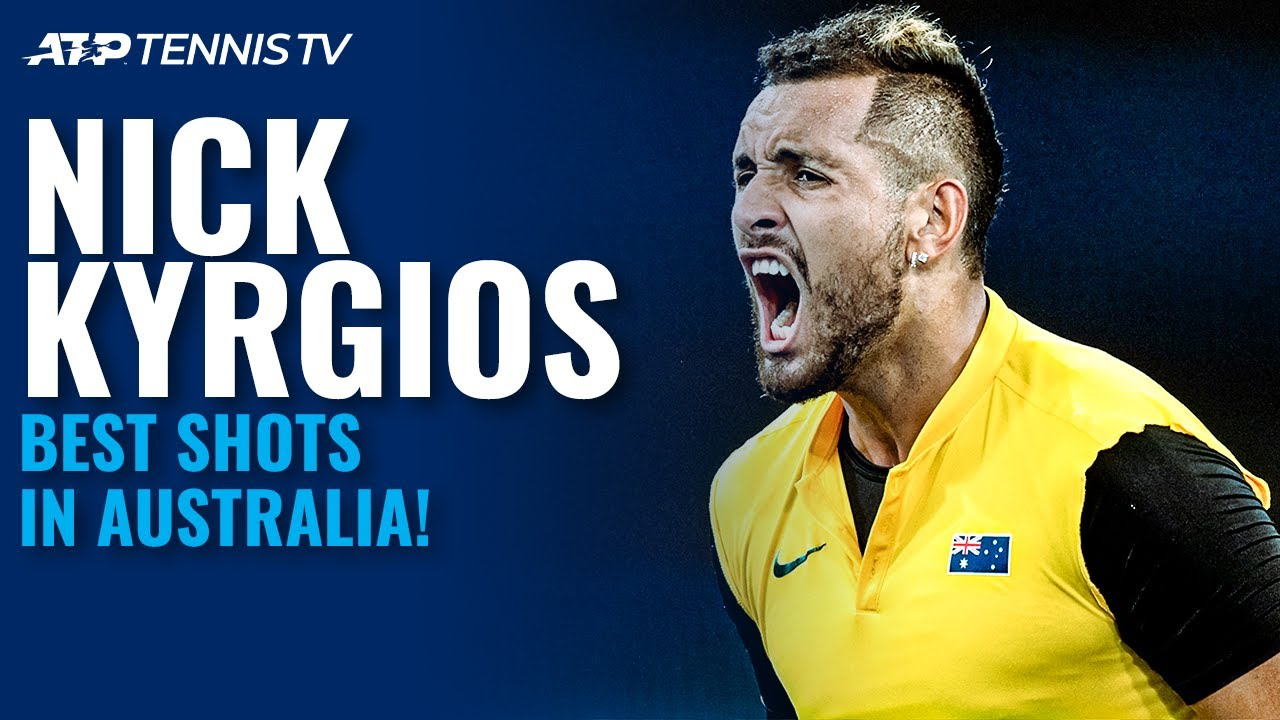 Nick Kyrgios: Best ATP Shots in Australia 🇦🇺