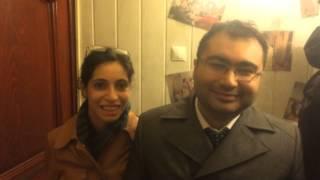 Банкиры Ульви с супругой о Тигродоме