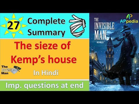 The Invisible Man | Ch 27 | The Seize of Kemp's House | In Hindi